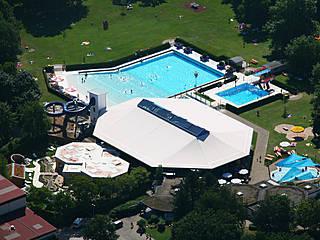 Luftbild des Cuppamare. © Stadt Kuppenheim
