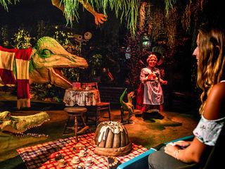 Dinosaurier und Musical