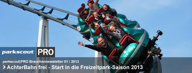 AchterBahn frei - Start in die Freizeitpark-Saison 2013