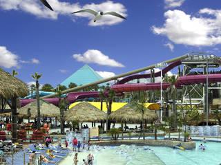 Der Wasserpark Schlitterbahn Galveston Island Waterpark in Galveston, Texas © Schlitterbahn Waterparks