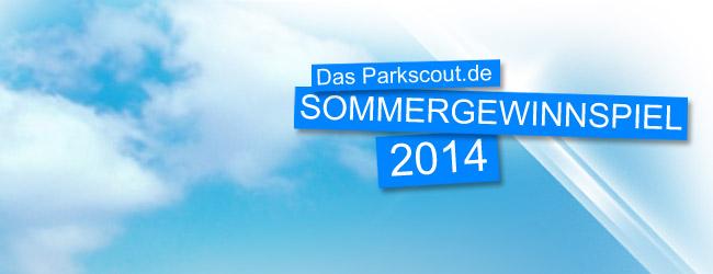 Das große Parkscout Sommergewinnspiel 2014